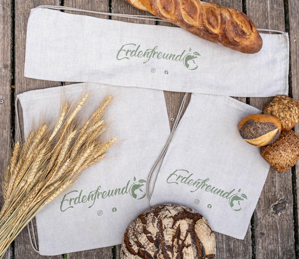 Erdenfreund Broteutel - Die nachhaltigsten Brotbeutel Europas