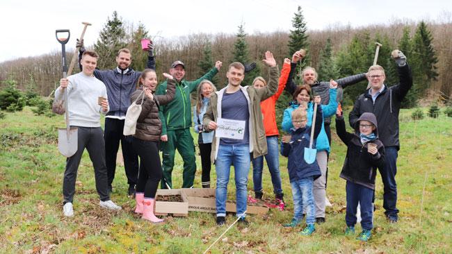 Erdenfreund Umweltaktion Baumpflanzaktion