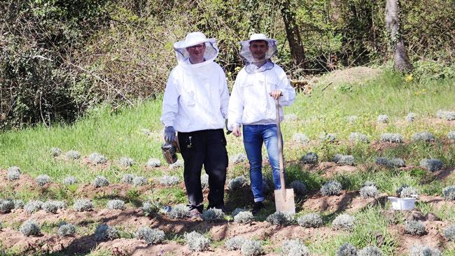 Erdenfreund Umweltaktion Bienenaktion