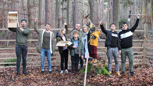 Erdenfreund Umweltaktionen Baumsaatenaktion