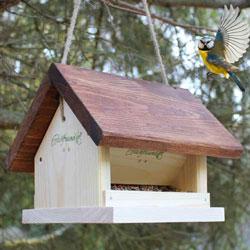 Vogelfuttersilo zum Aufhängen
