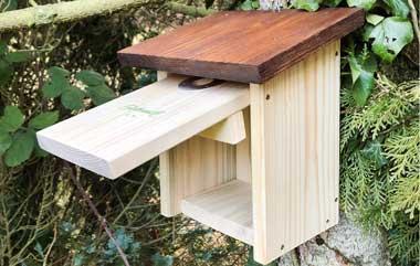 Heimische Gartenvögel Nistkasten