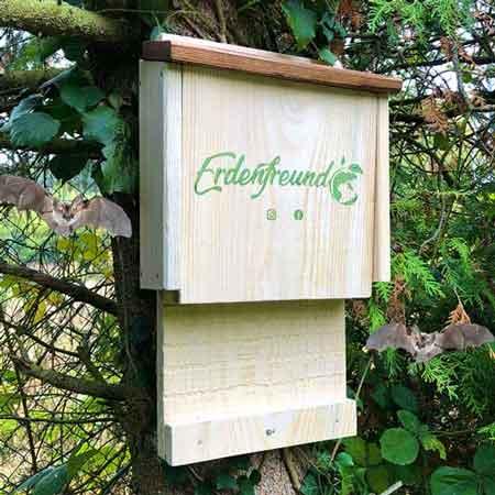 Nisthäuser für Fledermäuse