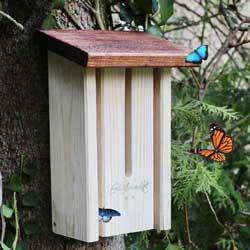 Schmetterlingshaus zum Nisten