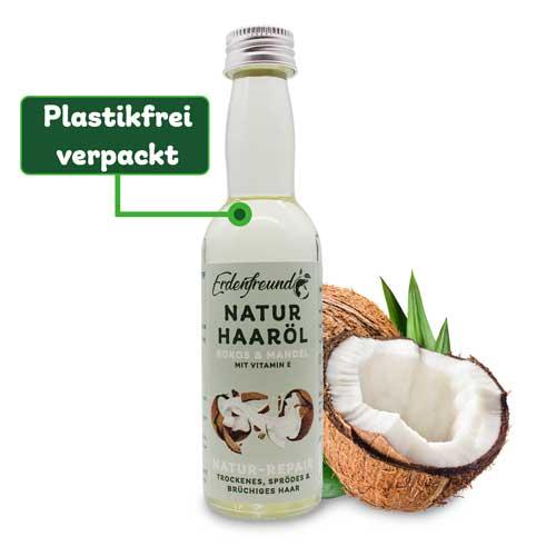 Bio-Kokos Haaröl plastikfrei