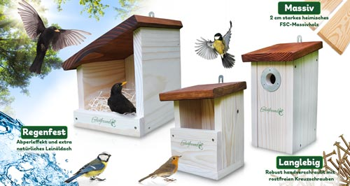 Vogelhaus kaufen aus deutscher Handarbeit