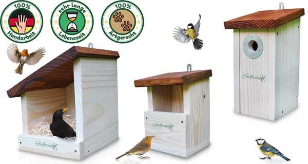 Langlebiges Vogelhaus kaufen