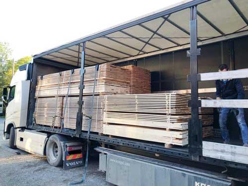 Erdenfreund FSC-Tierhäuser Holzlieferung
